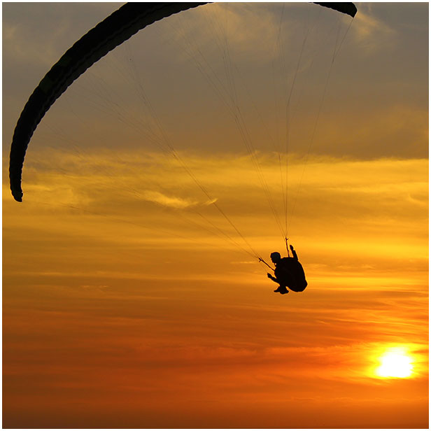 paragliding sunset torrey pines gliderport california